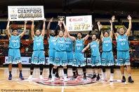 今シーズンの前哨戦であるB.LEAGUE EARLY CUP 2019 KANSAI で初優勝を飾ったハンナリーズは、開幕2連勝と好スタートを切った。(C)KyotoHannaryz/B.LEAGUE