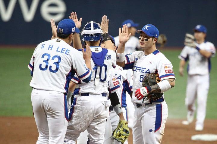 オープニングラウンドを3勝0敗で通過した韓国。今回も日本の難敵として立ちはだかりそうだ。(C)Getty Images