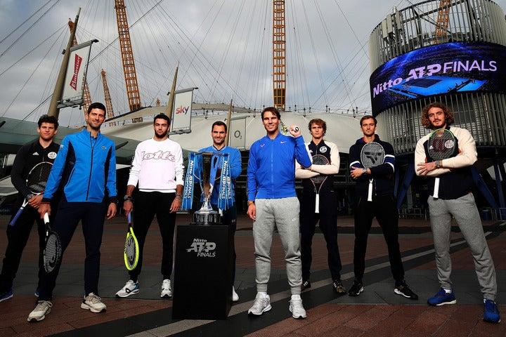 男子のトップ8が集い、優勝を争うツアーファイナルズ。現在総当たりの予選ラウンドが行なわれている。(C)Getty Images