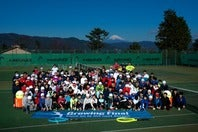 伊東市小室山公園テニスコートで175名を集めて行なわれた全国大会
