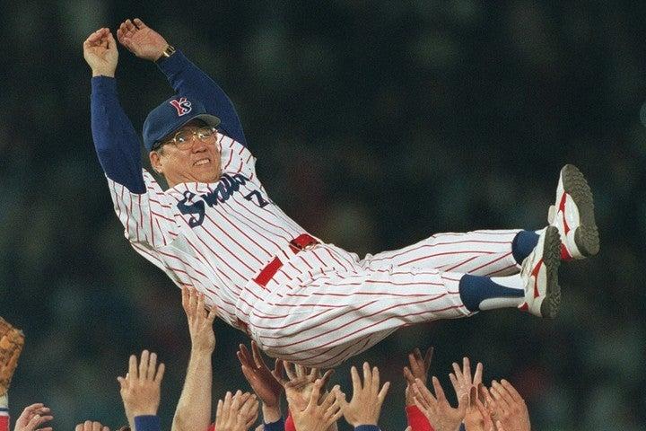 野村氏は選手としても、監督としても、そして解説者としても、あらゆる面で野球界に貢献し続けた。写真:朝日新聞社
