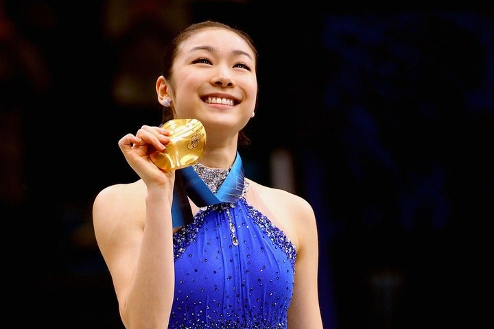 キム・ヨナさんはいまだ、韓国で絶大な人気を誇るレジェンドだ。(C)Getty Images