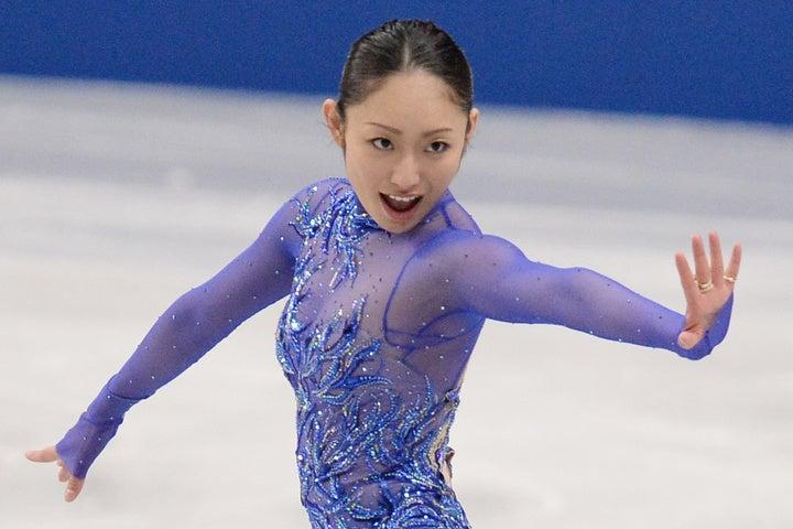 元フィギュアスケート世界選手権女王の安藤さんが6日、娘と小学校入学式に参加したことを報告した。(C)Getty Images