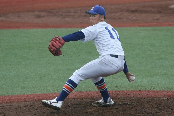 大学日本代表の抑えに定着した伊藤は即戦力として人気を集めそうだ。(写真)大友良行