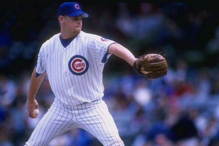 当時まだ20歳だったウッドがこの日見せた快投は「史上最高のピッチング」とも言われる。(C)Getty Images