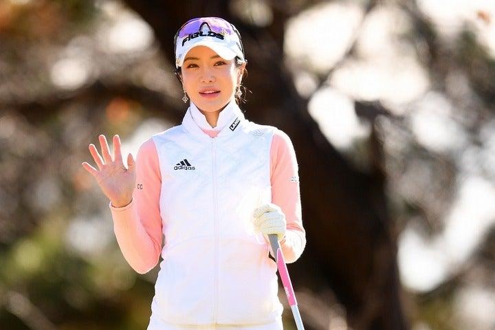 日本女子ツアーの開幕に向けて、韓国国内で黙々と調整に励んでいるアン・シネ。(C)Getty Images