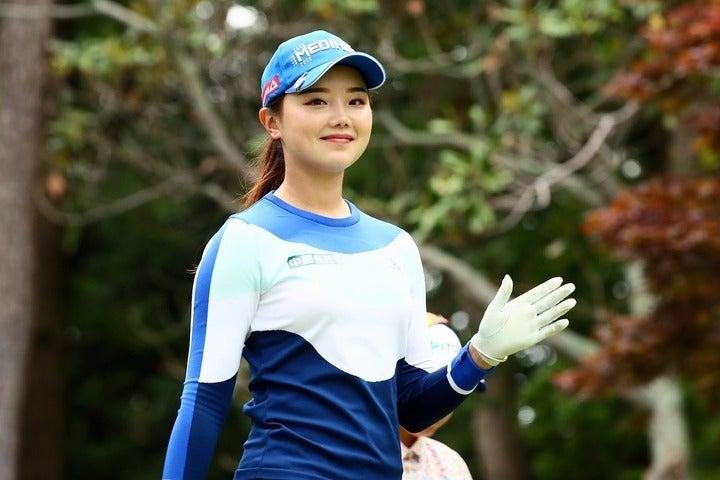 待ちに待った日本女子ツアー開幕戦に向け、順調な仕上がりを見せているセキ・ユウティン。(C)Getty Images