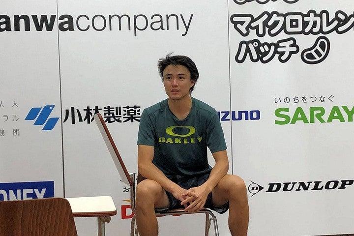 ダニエル太郎は「20歳前後の良い選手たちが集まっているので要注意の3日間になる」と気を引き締めた。写真:内田暁