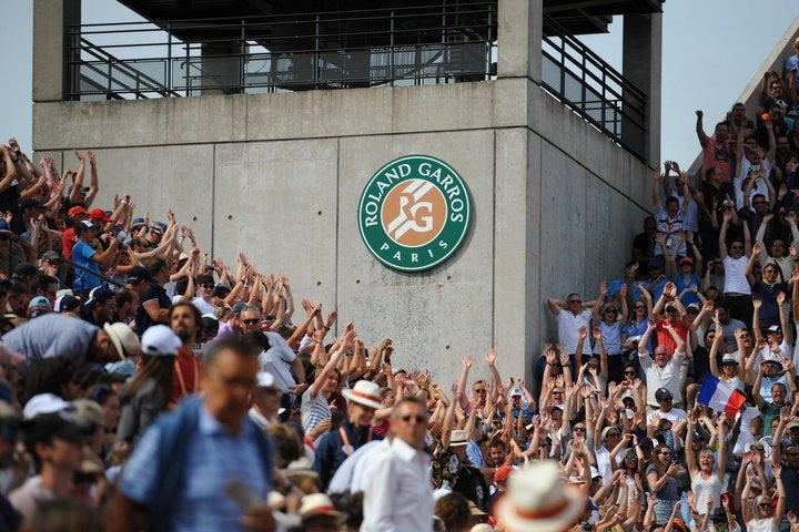 全仏オープンが、50~60%に観客数を制限して大会を開催する方針を発表した。(C)Getty Images