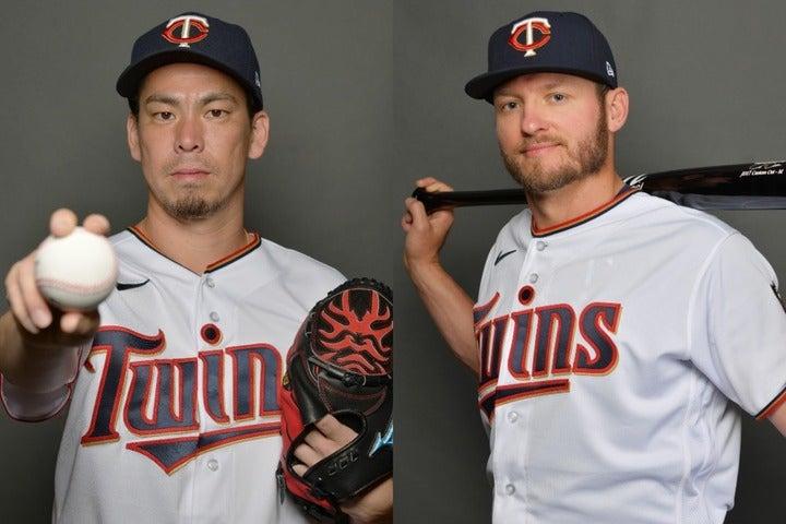 MVP男ドナルドソン(右)がマエケン(左)の勧めで『髭男』の虜に!? (C)Getty Images