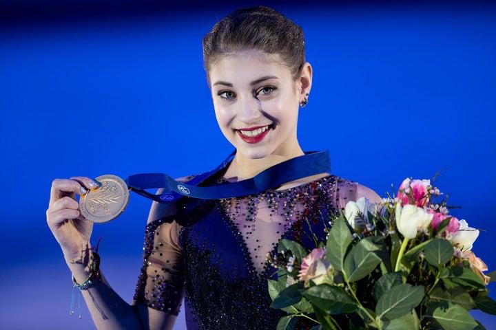 """現在16歳のコストルナヤ。以前より自身の夢と語っていた""""脳神経外科医""""への意向について語った。(C)Getty Images"""
