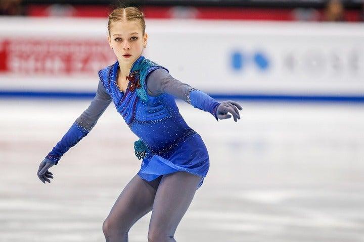 来季のトゥルソワはどんなパフォーマンスを披露してくれるのか。(C)Getty Images