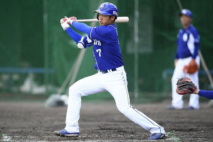 根尾をはじめ、将来性豊かな若手野手が揃っているのだが……。写真:金子拓弥(THE DIGEST写真部)