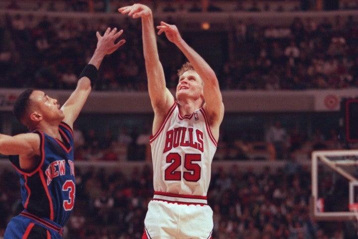カーは「これまでいろんな人たちが私を雇ってくれたのは、マイケルのすぐそばでプレーしていたから」とシカゴ時代を振り返った。(C)Getty Images