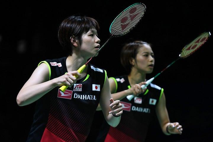日本人対決を制し、ツアー2連勝を飾った福島(右)・廣田(左)ペア。(C)Getty Images