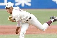 豪腕レフティ・早川は投手が課題の楽天へ決まった。写真:山手琢也