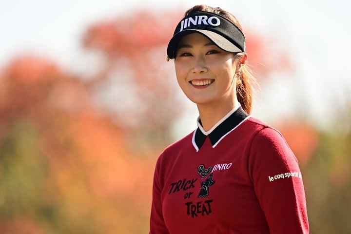 『伊藤園レディスゴルフトーナメント』で、今季最高の6位でフィニッシュしたキム・ハヌル(C)Getty Images