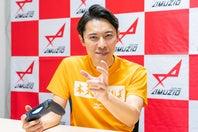 世界一熱いものまねを繰り広げつつ、『テニス ワールドツアー 2』を楽しんだこにわ。写真:田中研治