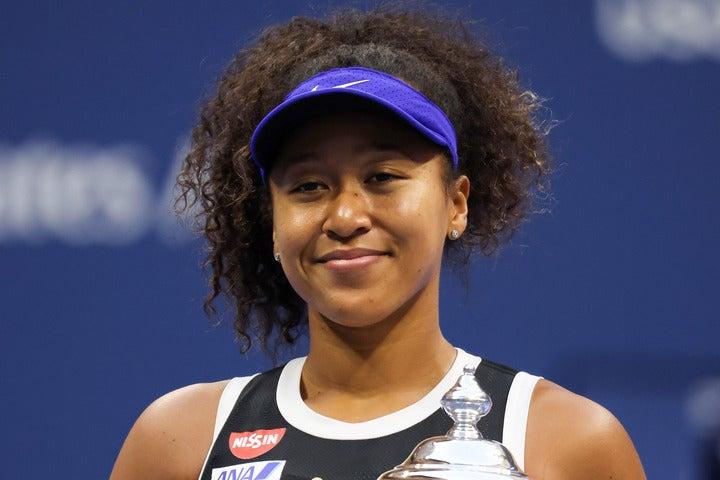 9月に2年ぶり2度目の全米オープン優勝を飾った大坂が、「今年活躍した」「来年活躍が期待できる」女性アスリートで1位に選ばれた。(C)Getty Images