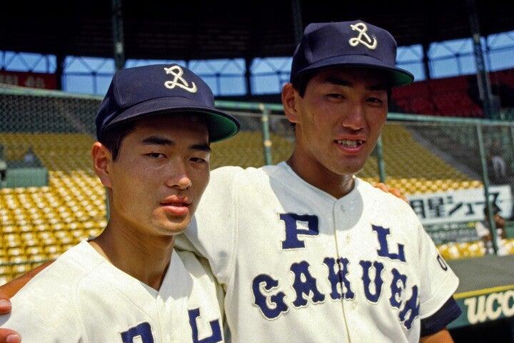 1985年ドラフトの目玉となった桑田(左)と清原(右)。写真:岡沢克郎アフロ