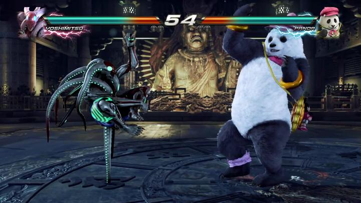 リアルな格闘技の使い手とフィクション要素の高いキャラクターが同居しているのが『鉄拳』シリーズの特徴のひとつ。