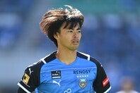 昨季、新人記録タイとなる通算13ゴールを決めた、プロ2年目の三笘薫。写真:金子拓弥(THE DIGEST写真部)
