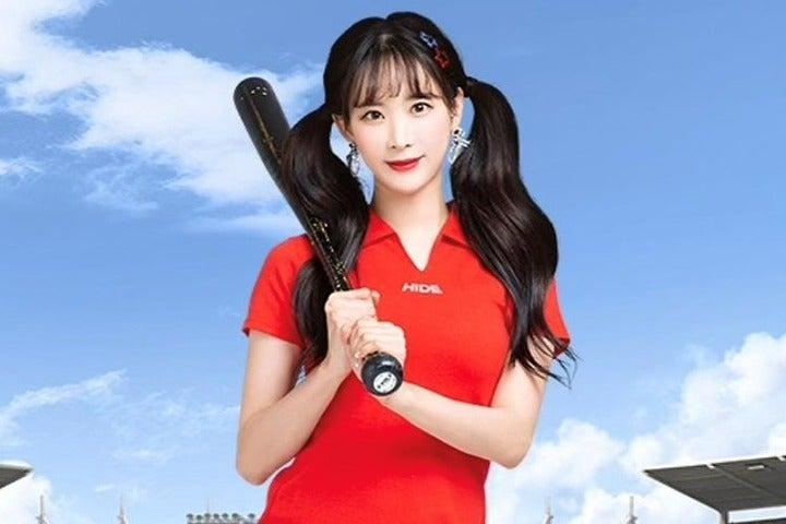 またしても悩殺ショットを公開したキム・ハンナさん。韓国チア界の代表格だ(写真は公式インスタグラムより)。
