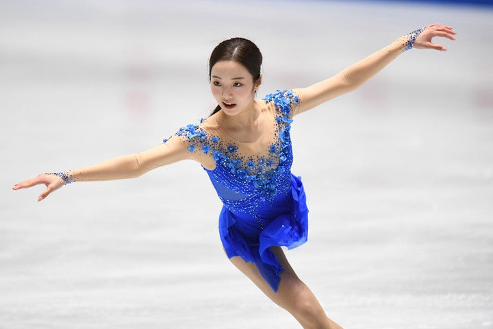 スケート界で大人気の本田真凜がSNSで兄弟ショットを公開し、話題を呼んでいる。写真:徳原隆元