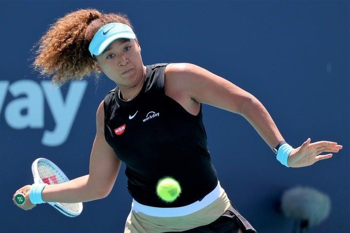「マイアミ・オープン」は8強に終わった大坂。マドリード開催の次戦で巻き返しを図る。(C)Getty Images