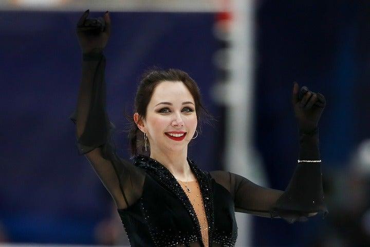 世界選手権では準優勝を果たし、嬉し涙に暮れたトゥクタミシェワ。大好きな日本の地でも躍動するか。(C)Getty Images