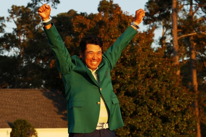 マスターズ優勝で日本中に感動と興奮をもたらした松山。次なるメジャーでの奮闘に期待がかかる。(C)Getty Images