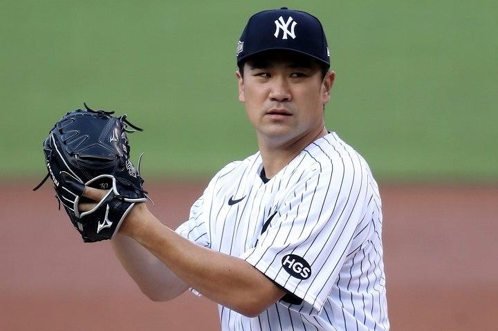 ヤンキースではコールと並び、勝ち星が計算できる投手だった田中。彼の退団を惜しむ声はいまだ絶えない。(C) Getty Images