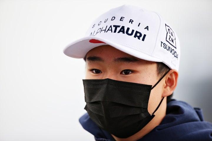 F1第2戦のイモラでは単独スピンを喫するなどミスが目立った角田だが、彼のポテンシャルに対する評価は依然として高いようだ。(C)Getty Images