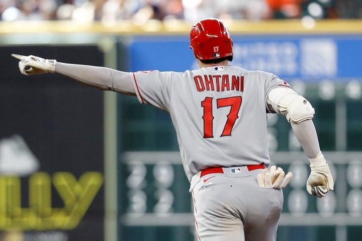圧巻の一発でチームの連敗ストップに貢献した大谷。その打棒に賛辞が相次いでいる。(C) Getty Images