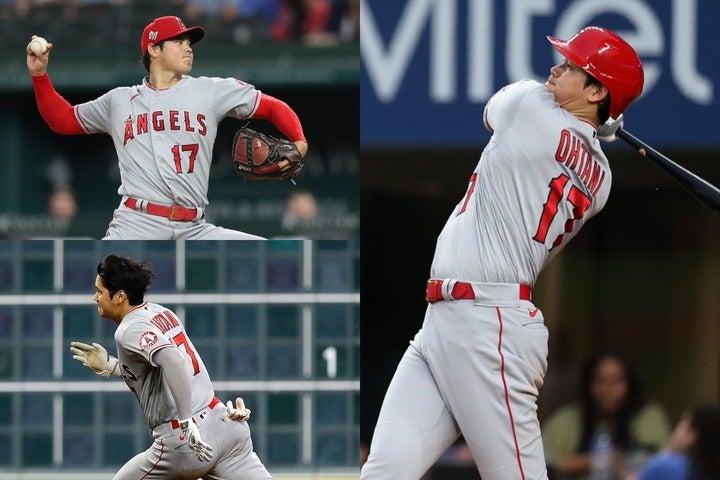 投手として、打者として、そして走者として…大谷はそのすべてで全米の注目を一身に集めている。(C)Getty Images