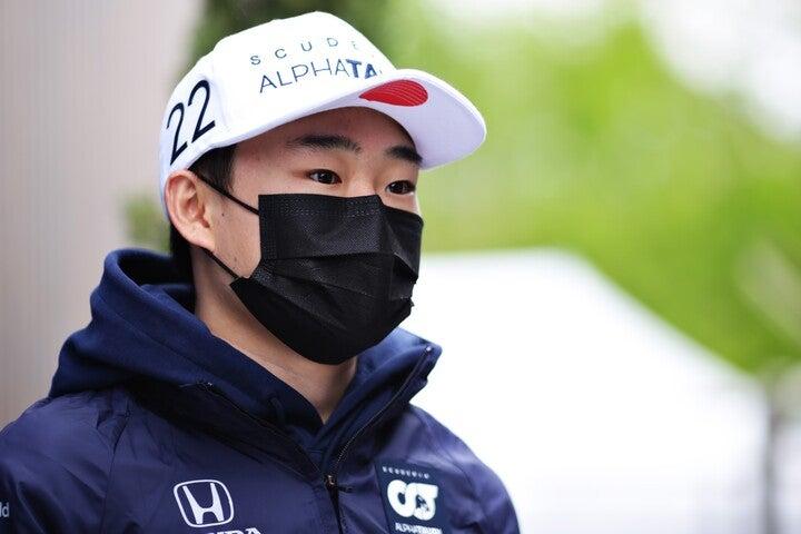 角田の才能を評価するヒルは、「勝利を挙げる可能性は十分にある」とも語った。(C)Getty Images
