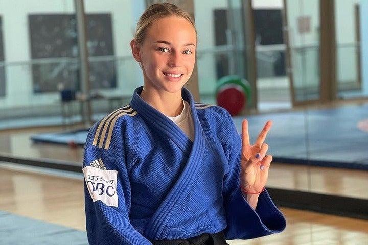 柔道48キロ級の現世界女王、ビロディド。東京五輪でも金メダルの有力候補だ(写真は公式インスタグラムより)。