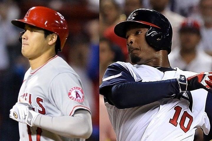 敵地で驚愕の一発を放った大谷。MLB経験が豊富なジョーンズも賛辞を惜しまなかった。(C)Getty Images