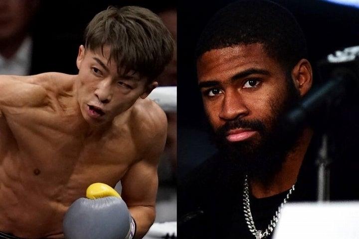 バンダム級で敵なしの井上(左)だが、1階級上の王者フルトン(右)は「やれば俺が勝つ」と言い放った。(C)Getty Images