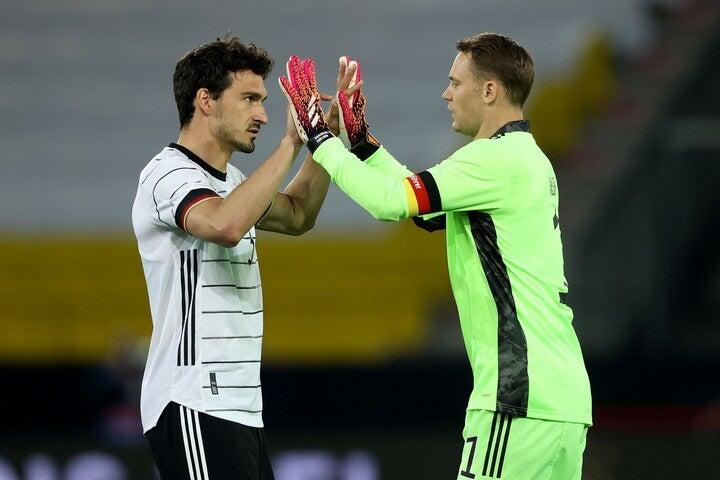 優勝すれば高額の報酬を受け取れるドイツ代表だが、予選突破時のボーナスはないという。(C)Getty Images
