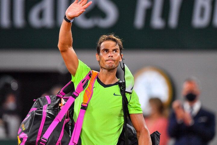 全仏オープンではジョコビッチとの激闘の末に準決勝で敗れたナダル。回復にはやはり時間がかかるようだ。(C)Getty Images