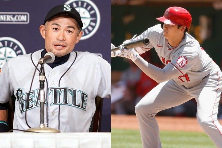 """イチローが引退会見で語った現代野球の""""問題点""""を、大谷なりの""""答え""""で示したようなプレーがあった。(C)Getty Images"""