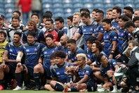 """英国選抜""""ライオンズ""""相手に健闘した日本代表。今週末にはアイルランド戦を控える。(C) Getty Images"""