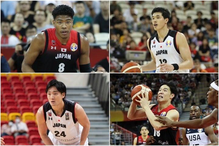 日本代表は7月上旬に最終12名を発表する見込み。八村、渡邊ら海外組に加えて名を連ねるのは?(C)Getty Images