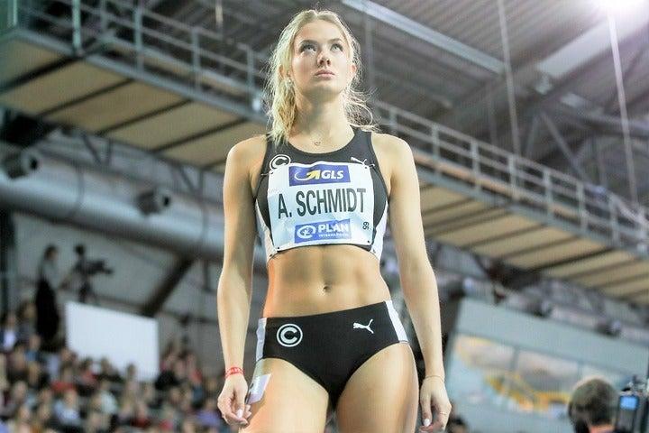 まもなく来日を果たすシュミット。五輪本番でのダイナミックな走りに期待だ。(C)AFLO