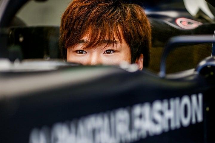 FIAの不手際にフラストレーションを溜めた角田。レース後には語気を強めて、本音を吐いた。(C)Getty Images