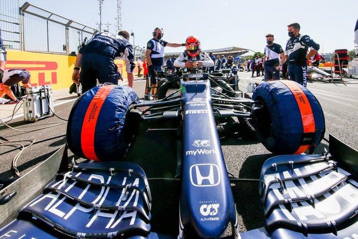 角田はスプリントレースで16位フィニッシュ。決勝での巻き返しなるか。(C)Getty Images