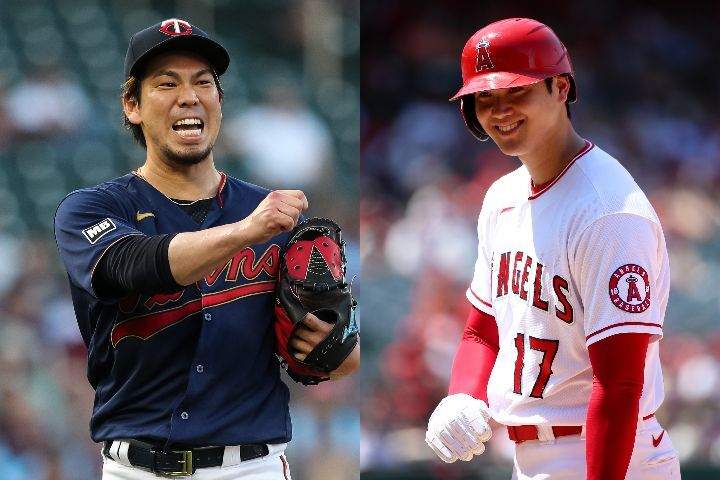 前田(左)と大谷(右)の対戦は非常に楽しみな見どころのひとつだ。(C)Getty Images