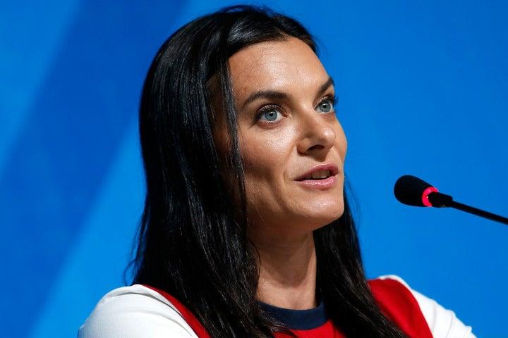 アテネ、北京の棒高跳びで2大会連続の五輪金メダルを獲得したイシンバエワさん。(C)Getty Images