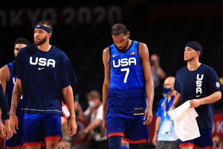ユーイングは現在のアメリカ代表について「ドリームチームの存在があるから、プレーすることが難しくなっている」と語った。(C)Getty Images